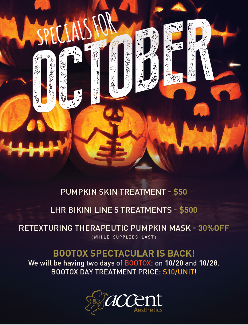 Beauty Specials for October 2015: Special Botox Prices!!