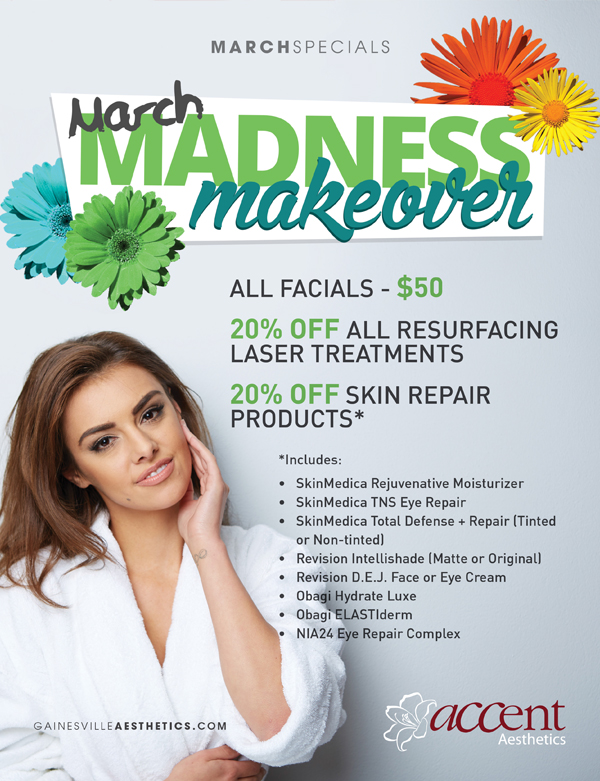 Beauty Deals in Gainesville, FL - March Madness Makeover
