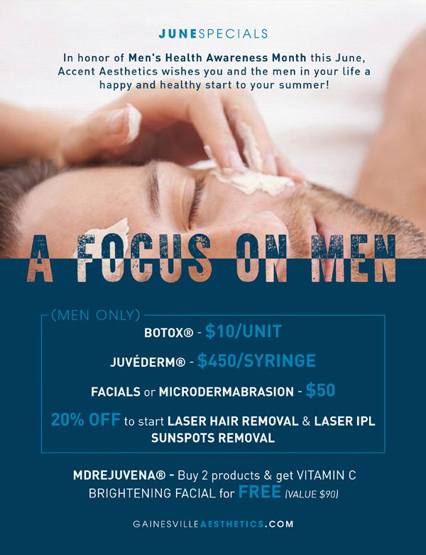 A Focus on Men - 2016 June Specials