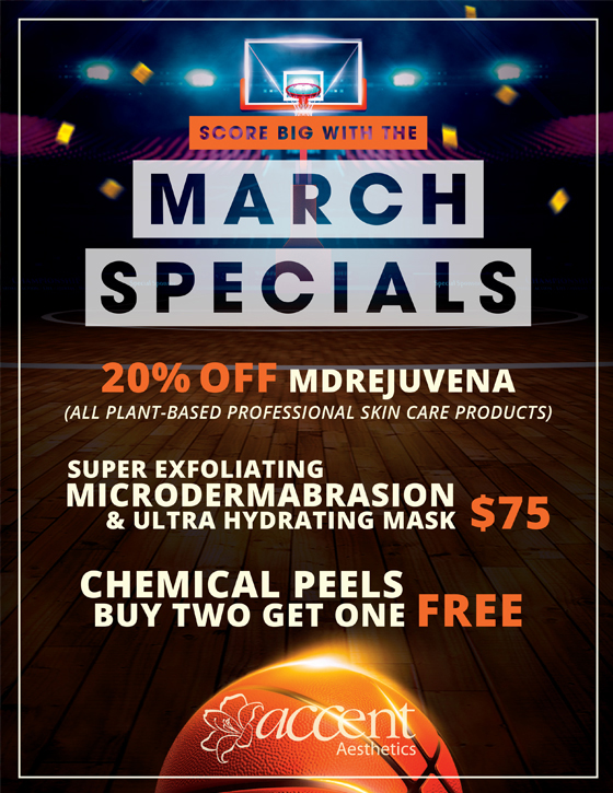 🏀 Score BIG with our MARCH SPECIALS! 🏀