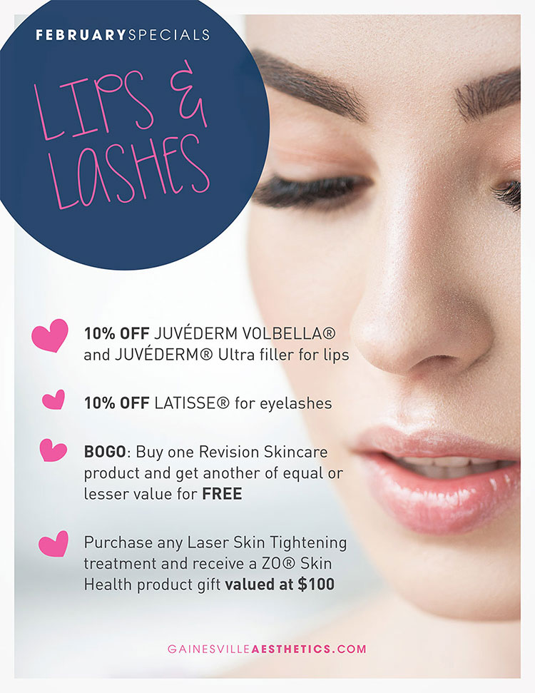 2018 February Specials at Accent Aesthetics