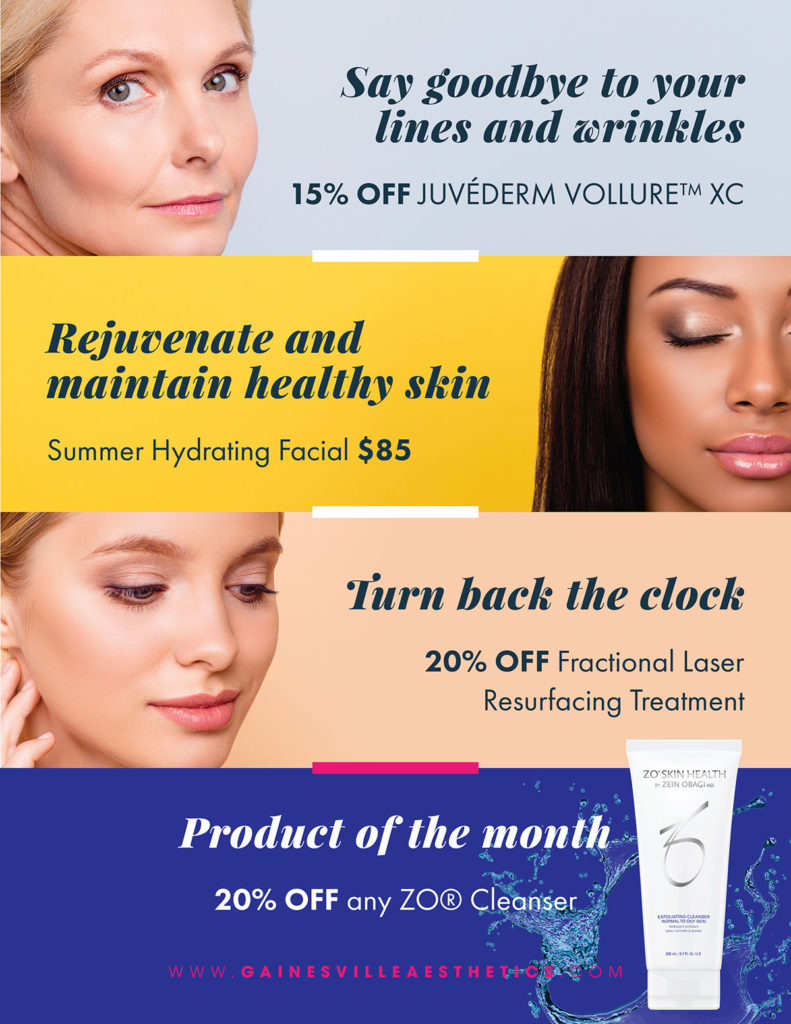 August Specials to Get You Back to Beauty!