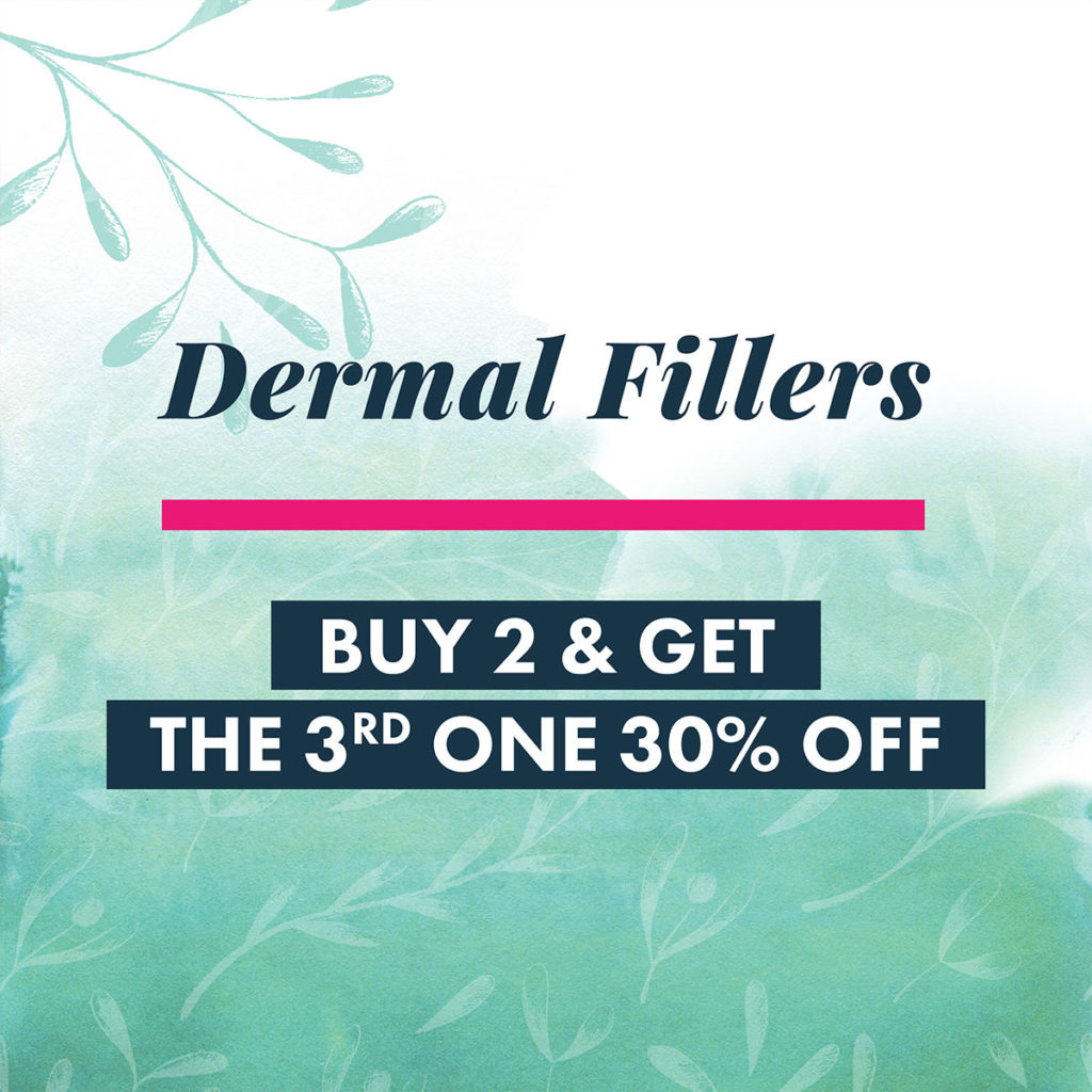 2018 October Specials - Dermal Fillers