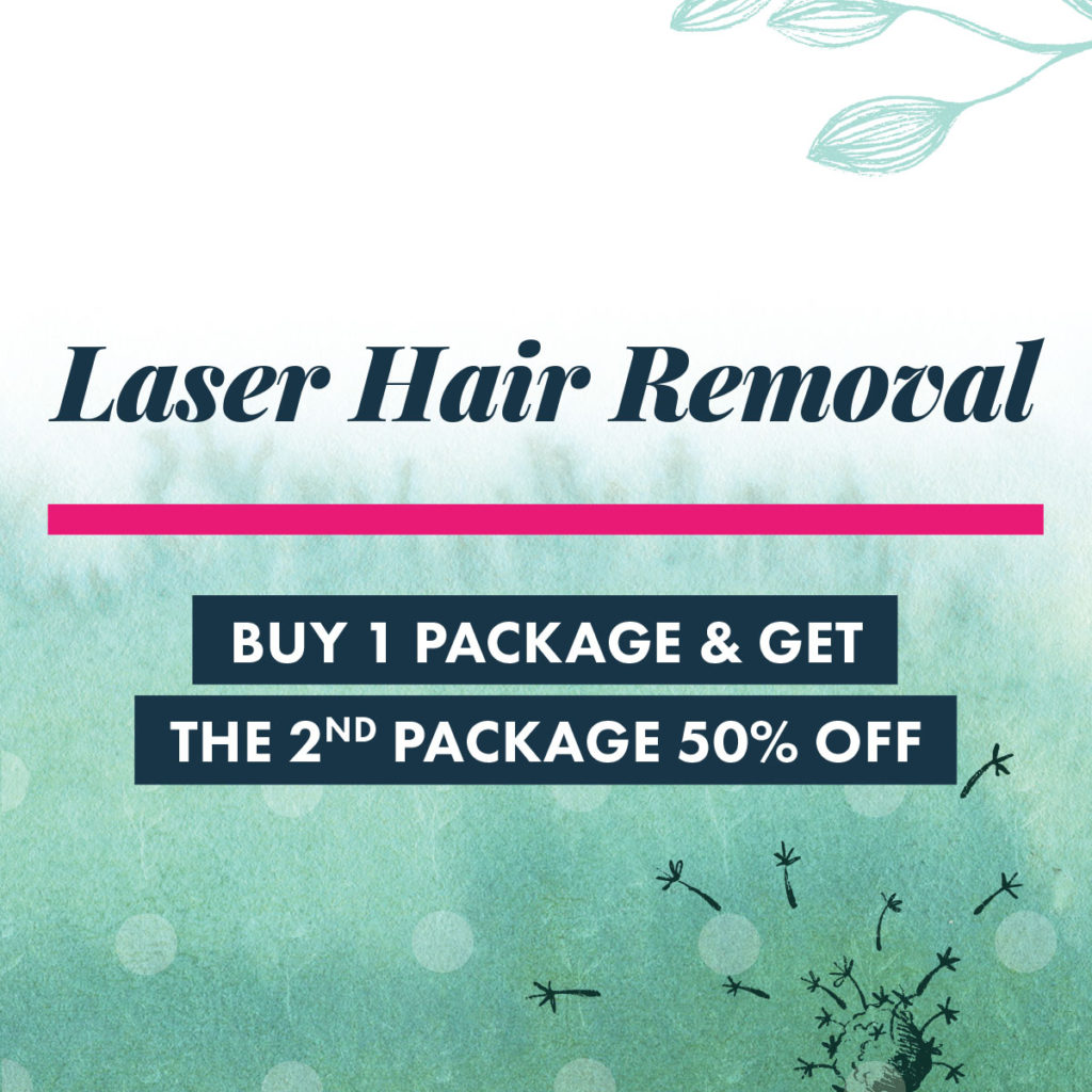 2018 October Specials - Laser Hair Removal