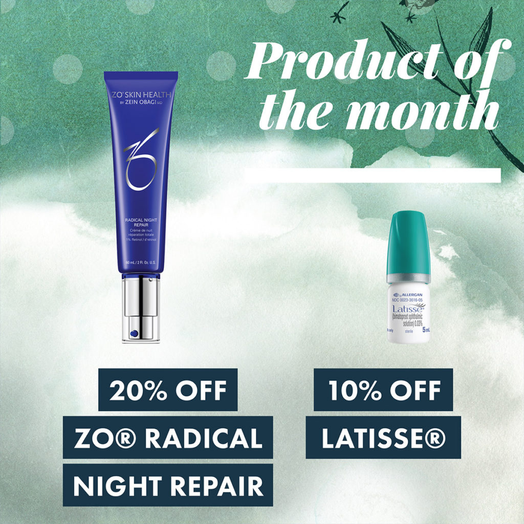 2018 October Specials - Product of the month