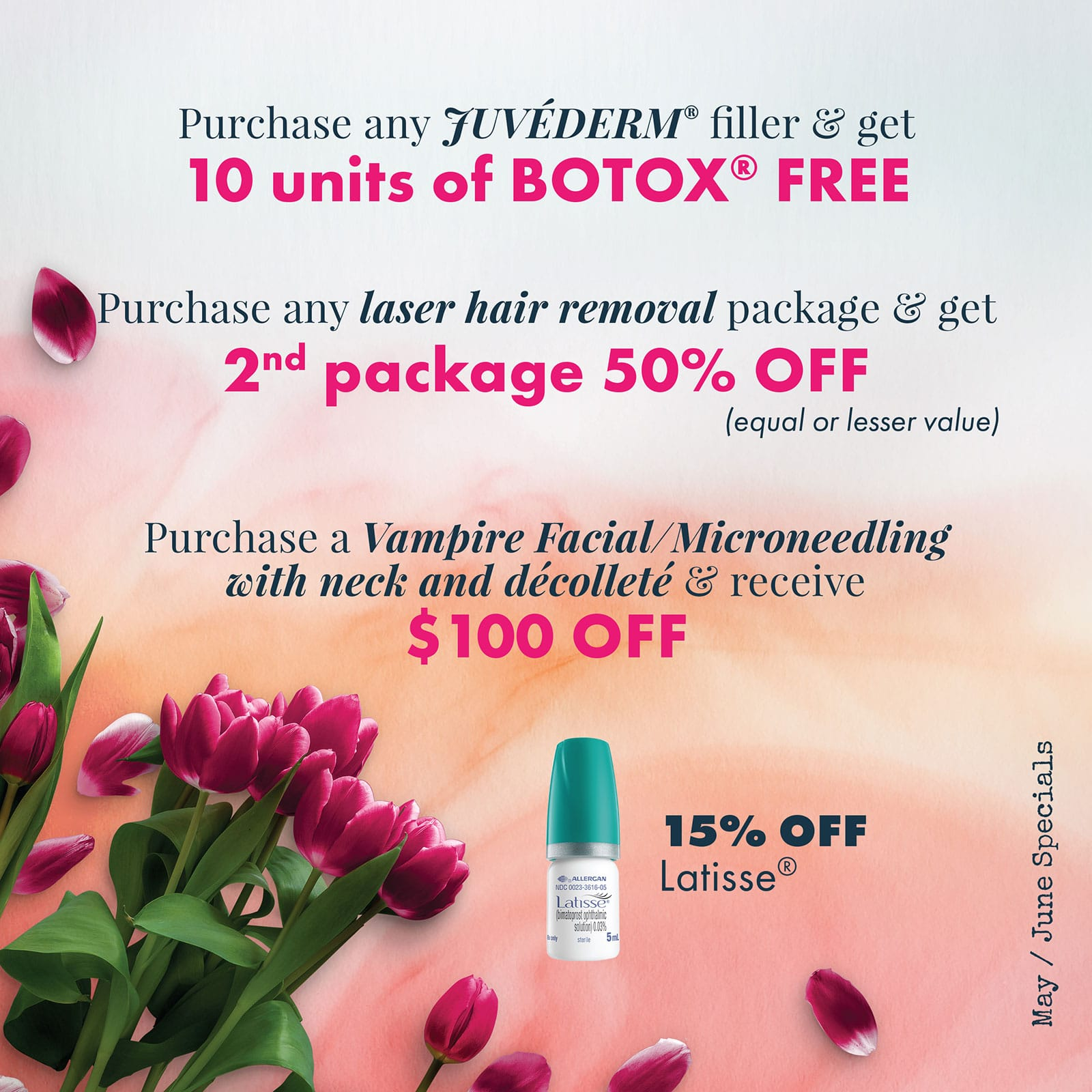 Make today about you! 10 units of BOTOX® FREE and more... Inbox